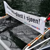 Clear Ocean trål med budskap